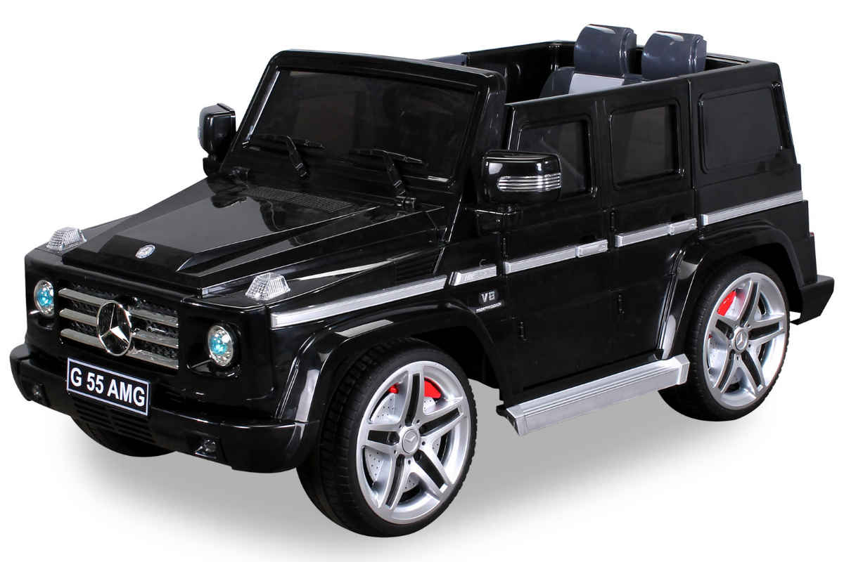 actionbikes elektro kinderauto mercedes benz g55 amg e. Black Bedroom Furniture Sets. Home Design Ideas
